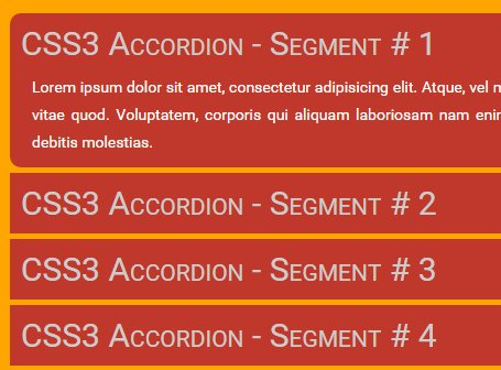 Super Smooth Accordion with CSS3